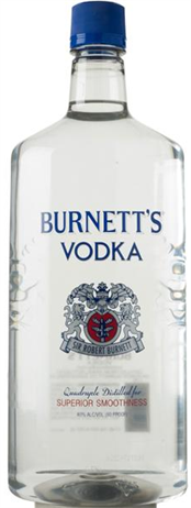 Burnetts Vodka 80@